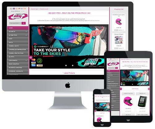 360 sky pro website