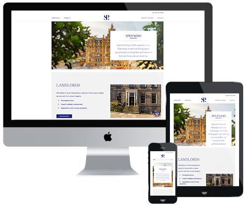 splendid property edinburgh website